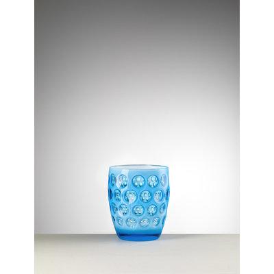 MARIO LUCA GIUSTI Lente Petit gobelet en acrylique  Lot de 6 - Turquoise