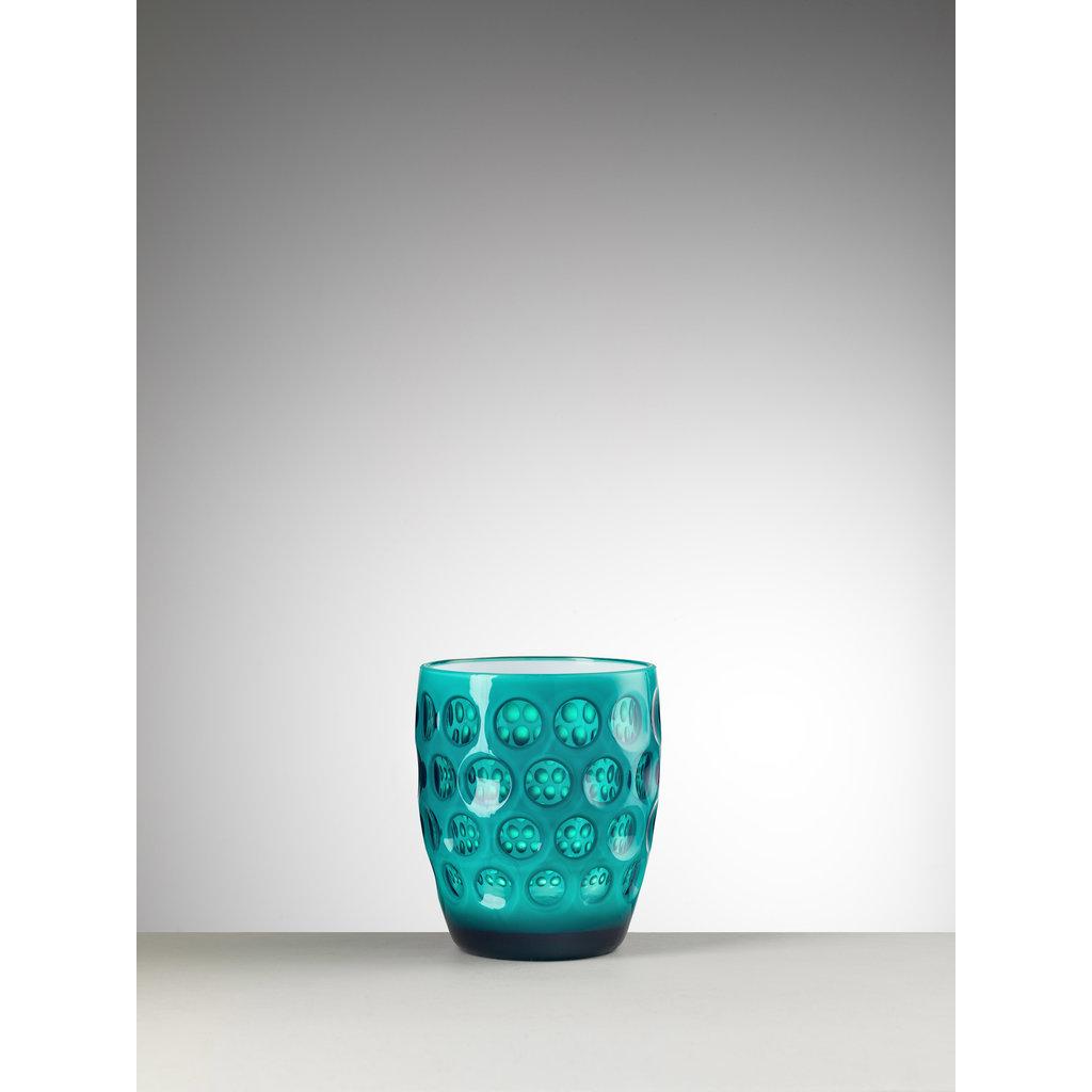 MARIO LUCA GIUSTI Lente Small Green Tumbler in Acrylic set f 6