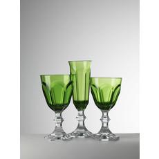 MARIO LUCA GIUSTI  Flûte à champagne Dolce Vita verte en acrylique lot de 6