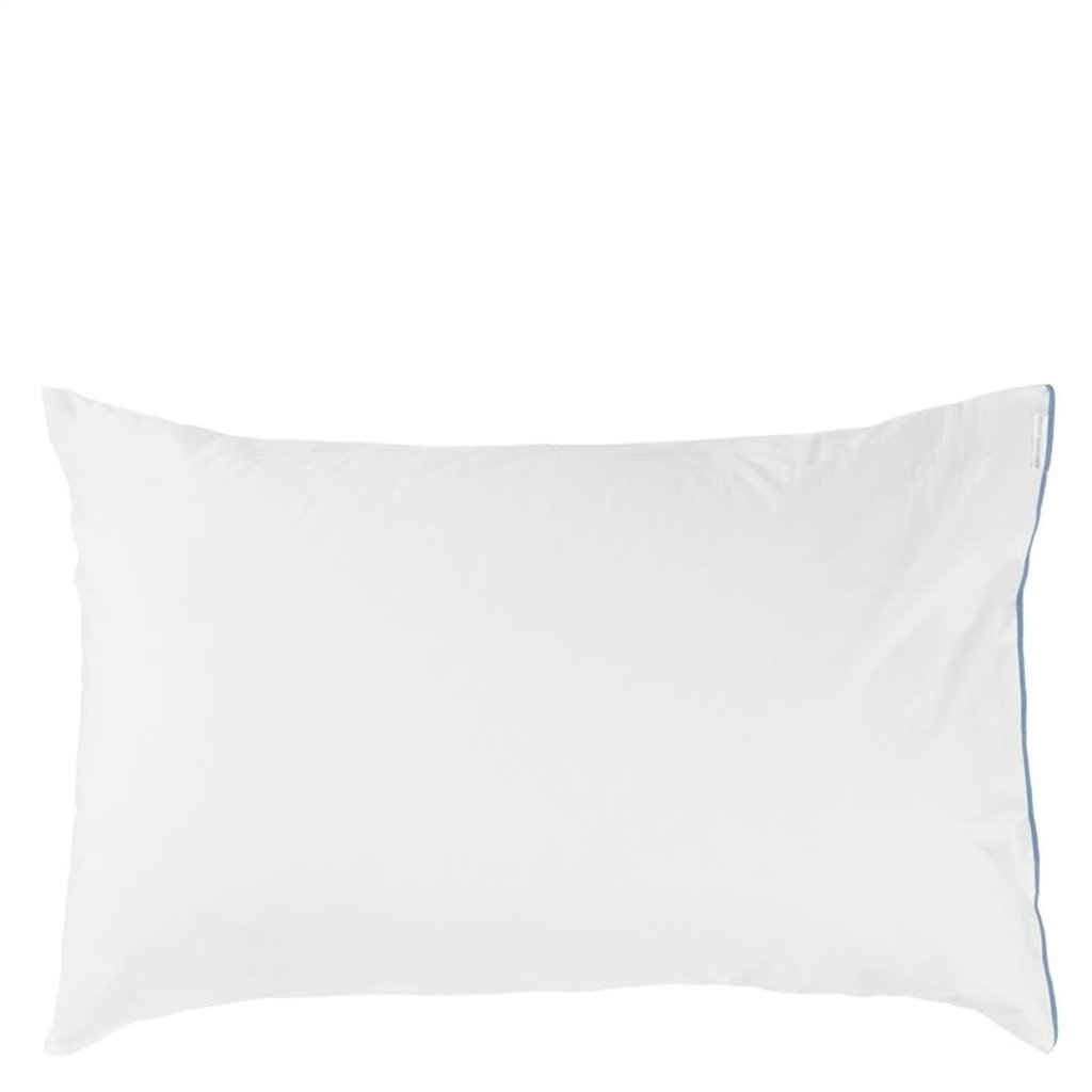 DESIGNERS GUILD Astor Indigo King Pillowcase 90X50Cm -36X20