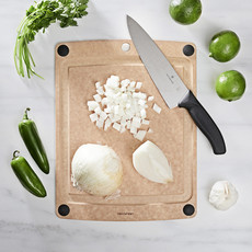 """EPICUREAN All-in-One Boards Natural/Black feet14.5"""" × 11.25"""""""