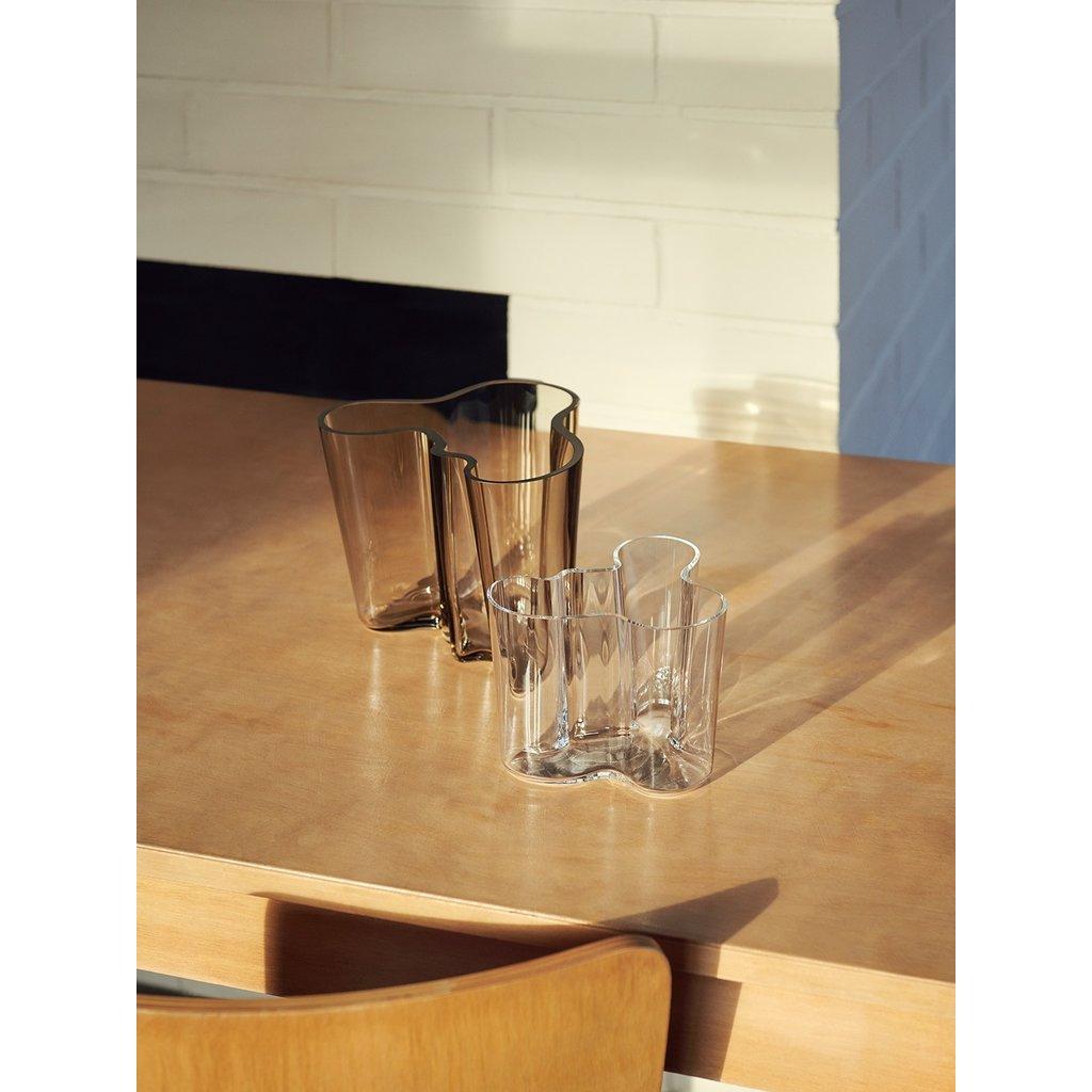 IITTALA  Aalto - Vase en verre 6.25''X5.5'' - Transparent