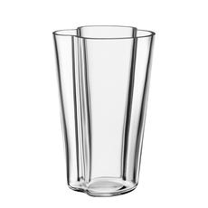 IITTALA AALTO Tall Glass VASE 8.75'' - Clear