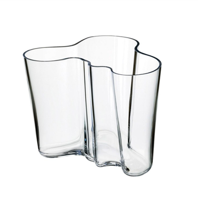LITTALA Aalto - Vase en verre 6.25''X5.5'' - Transparent