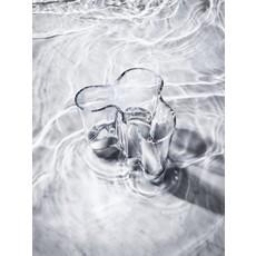 IITTALA  Vase en verre Aalto 6.75''X5.5'' - Clair