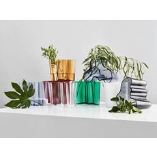 LITTALA  Vase en verre Aalto 6.75''X5.5'' - Cuivre