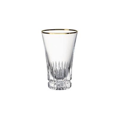 VILLEROY & BOCH Verre à long drink Grand Royal Gold 5 3/4 In 13 1/2 Oz