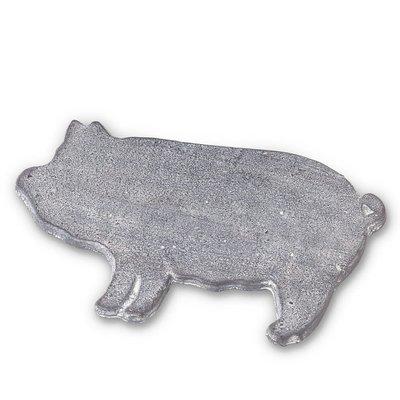 ABBOTT Dessous de plat en grès cochon debout