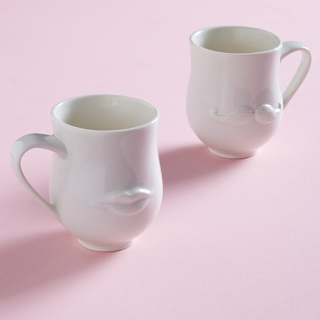 JONATHAN ADLER Mr. & Mrs. Muse Mug - White