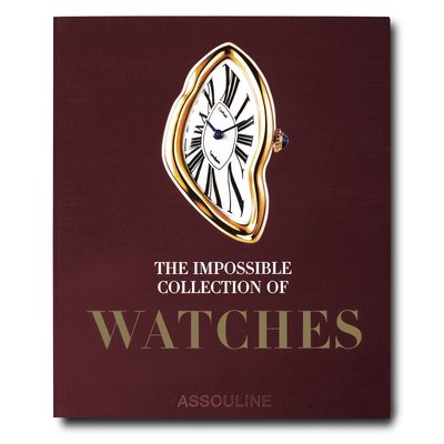 ASSOULINE The Impossible Collection of Watches, Author: Nicholas Foulkes W 15.47 x L 18.58 x D 2.75 in