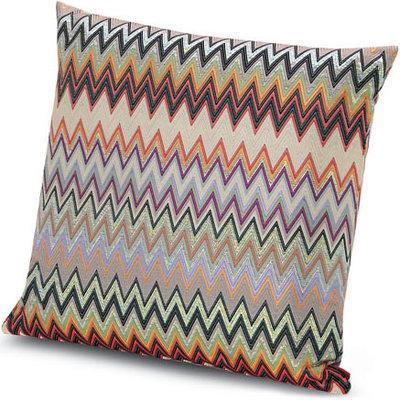"MISSONI HOME Masuleh Outdoor Pillow 24""x24"" - Zig Zag Pattern 156"