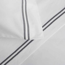 FRETTE FRETTE Hotel Classic Duvet King White/Grey