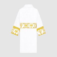 VERSACE HOME I Love Baroque Bathrobe - XL - White & Gold