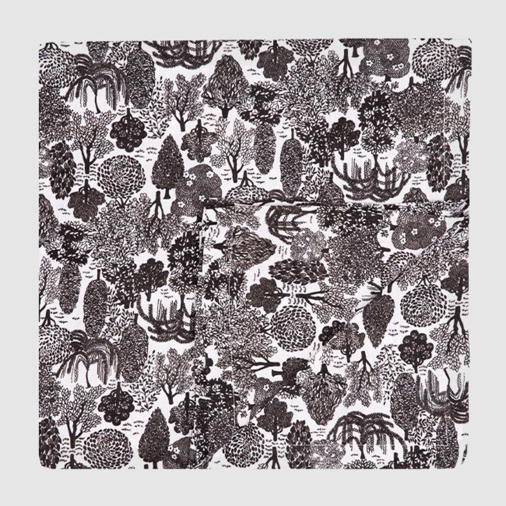 LA DOUBLE J Bosco Print Linen Tablecloth 180X180cm
