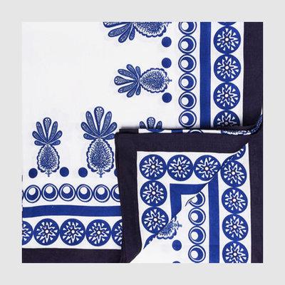 LA DOUBLE J Pineapple Print Linen Tablecloth 180X350cm