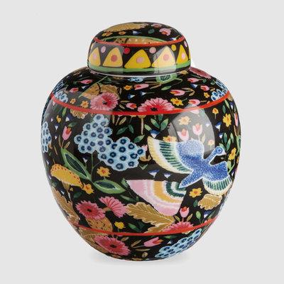 LA DOUBLE J Grand pot à thé Porcelaine Colombo Noir