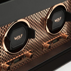 WOLF Axis Double Winder with Storage - Copper