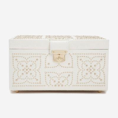 WOLF Marrakesh Boîte à bijoux moyenne - Crème