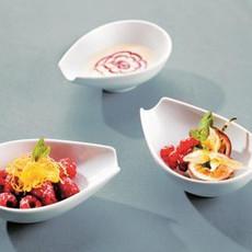 VISTA ALEGRE Small Oval Salad Bowl Buffet White