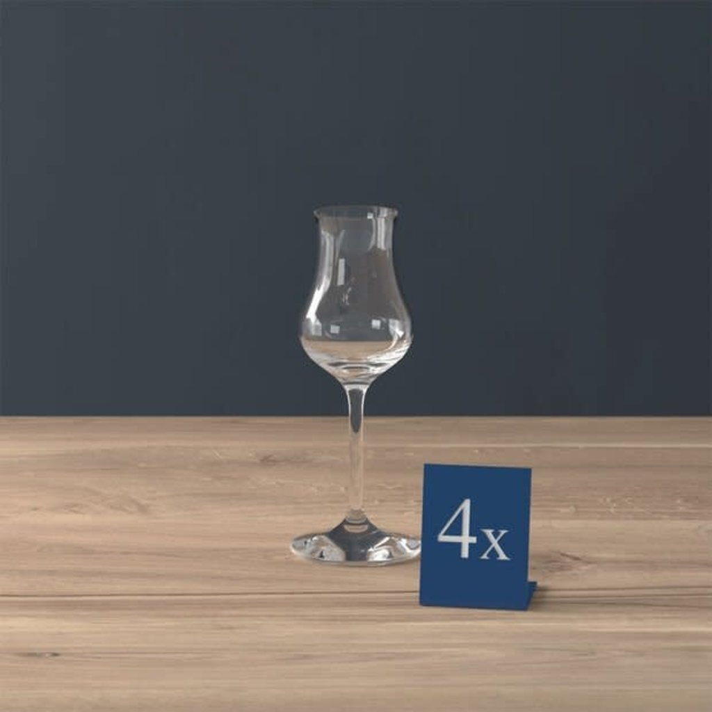 VILLEROY & BOCH Entree Sherry Glasses Set of 4 - Clear