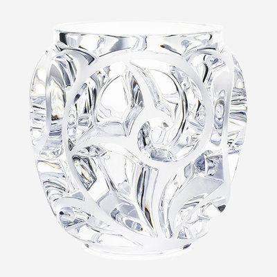 LALIQUE Tourbillons Vase Clear