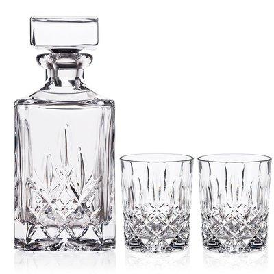 NACHTMANN NACHTMANN Noblesse Whiskey Decanter & 2 Tumbler