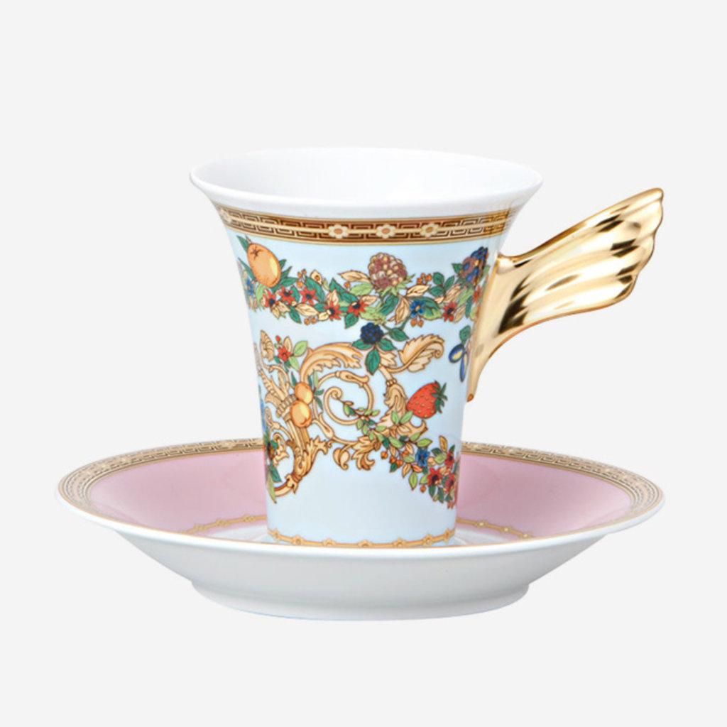 VERSACE Butterfly Garden Cup & Saucer
