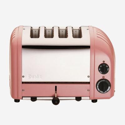 DUALIT Newgen 4 Slot Toaster Petal Pink