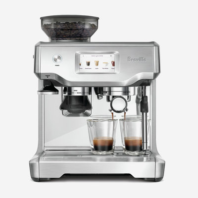 BREVILLE The Barista Touch Brushed Stainless Steel