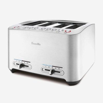 BREVILLE The Die Cast Smart Toaster 4-Slice