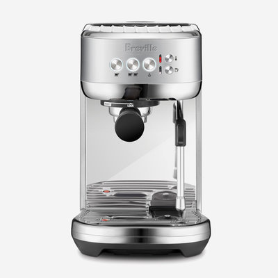 BREVILLE The Bambino Plus Brushed Stainless Steel