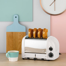 DUALIT Newgen 4 Slot Toaster White