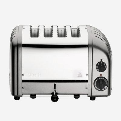 DUALIT Newgen 4 Slot Toaster Metallic Silver