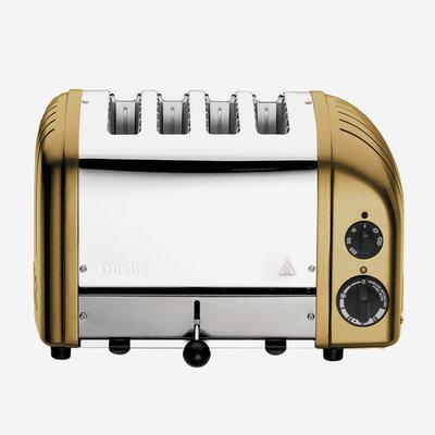 DUALIT Newgen 4 Slot Toaster Brass