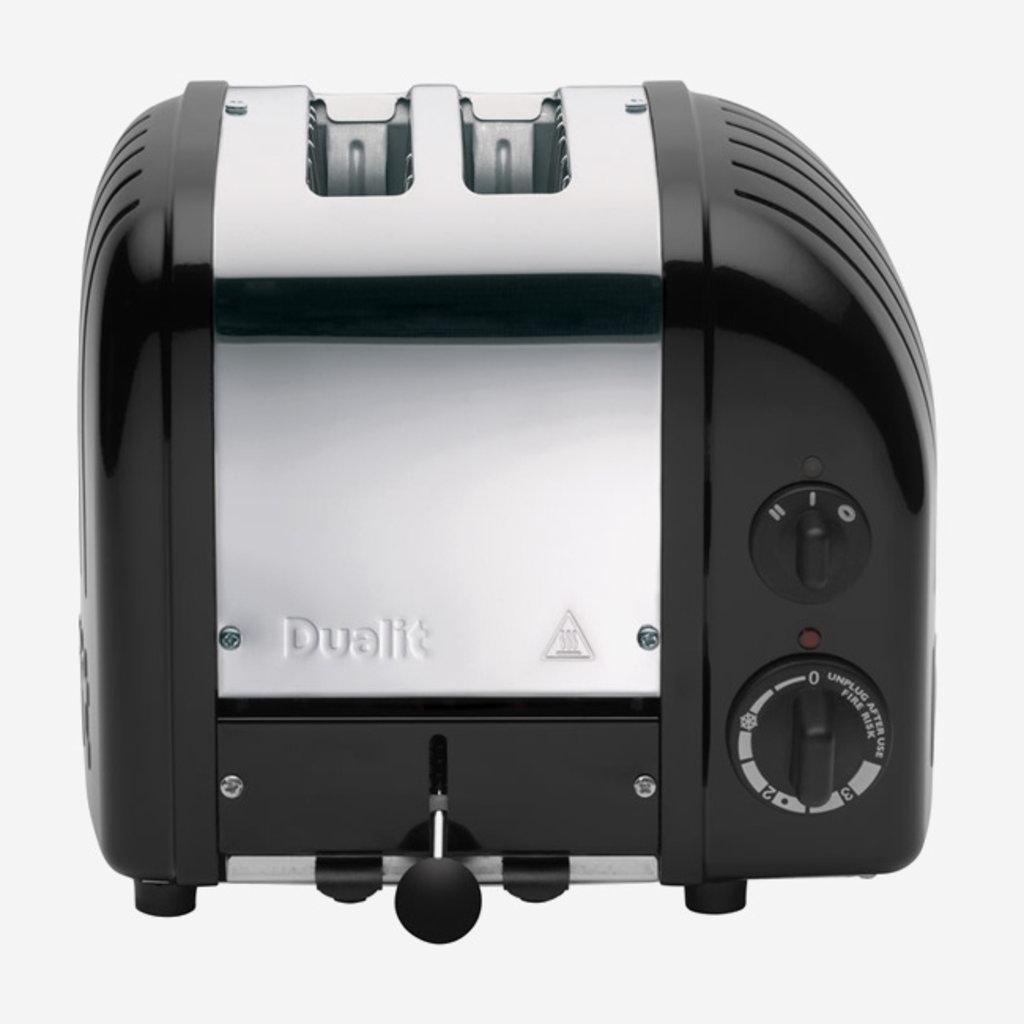DUALIT Newgen 2 Slot Toaster Black