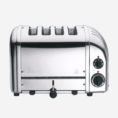 DUALIT Newgen 4 Slot Chrome / Stainless Steel Toaster