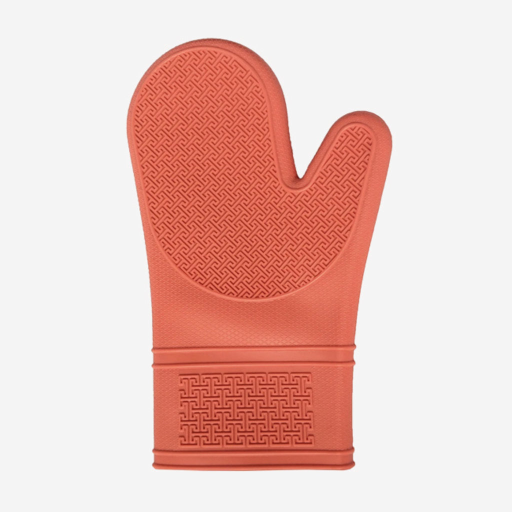 PORT-STYLE Silicone Oven Mitt - Coral
