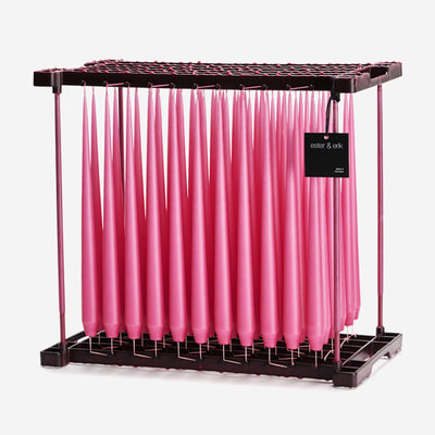 ESTER & ERIK Taper Candle - Matte Candy Pink