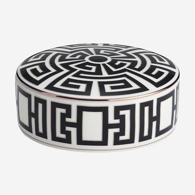RICHARD GINORI Labirinto Nero Keepsake Box - Black & White