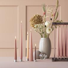 ESTER & ERIK Taper Candle - Matte Linen Grey