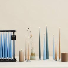 ESTER & ERIK Taper Candle - Matte Aqua
