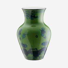 RICHARD GINORI  Oriente Italiano Malachite Small Ming Vase - Green & Blue