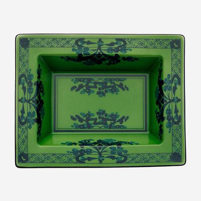 RICHARD GINORI Oriente Italiano Malachite Rectangulaire Vide Poche - Vert et Bleu