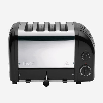 DUALIT 4 Slot Toaster Matt Black
