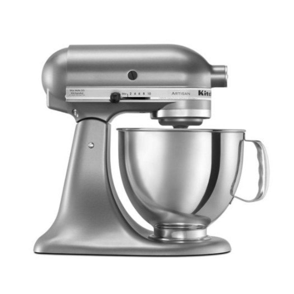KITCHENAID Artisan Series 5-Quart Tilt-Head Stand Mixer - Contour Silver