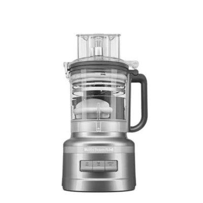 KITCHENAID Robot De Cuisine 13 Tasses Avec Kit De Découpage - Argent