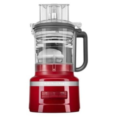KITCHENAID 13-Cup Food Processor with Dicing Kit - Empire Red
