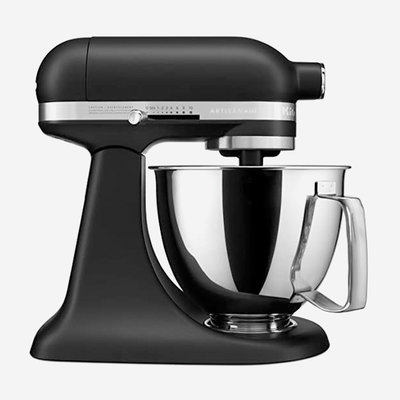 KITCHENAID Artisan Mini Stand Mixer Matte Black 3.5 Qt