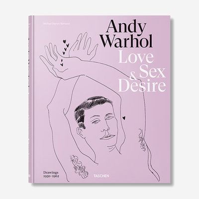 TASCHEN Warhol. Love, Sex and Desire - Hardcover with Sleeve