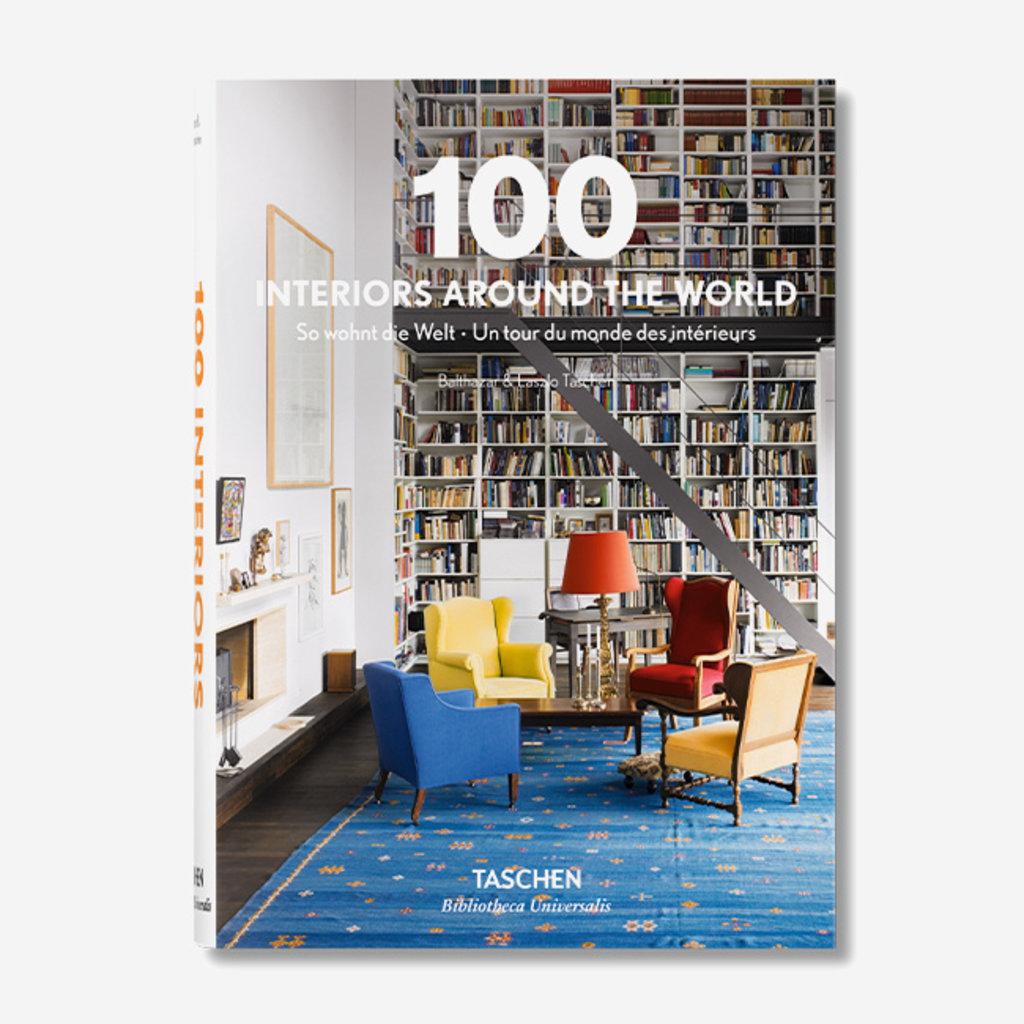 TASCHEN 100 Interiors Around the World (2015 Edition)  - Hardcover